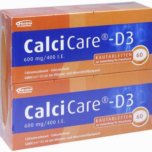 Abbildung von Calcicare- D3 Kautabletten  120 Stück