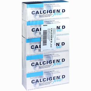 Abbildung von Calcigen D Forte 1000mg/880i.e. Brausetabletten  50 Stück