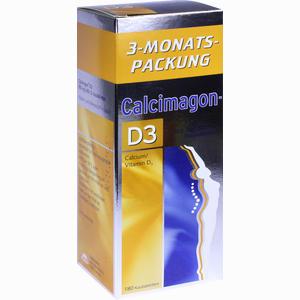 Abbildung von Calcimagon D3 500 Mg Kautabletten 180 Stück