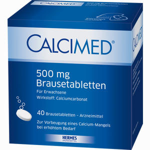 Abbildung von Calcimed 500mg Brausetabletten 40 Stück