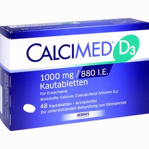 Abbildung von Calcimed D3 1000mg/880 I.e. Kautabletten 48 Stück
