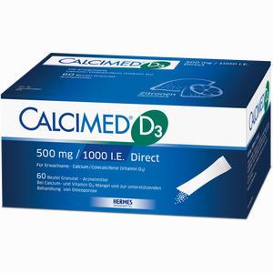 Abbildung von Calcimed D3 500mg 1000ie Direct Granulat 60 Stück