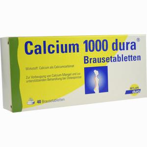 Abbildung von Calcium 1000 Dura Brausetabletten  40 Stück