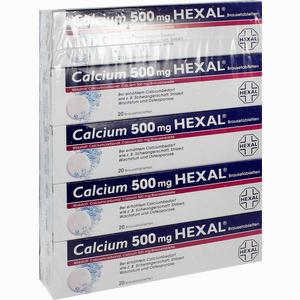 Abbildung von Calcium 500 Hexal Brausetabletten 100 Stück