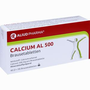 Abbildung von Calcium Al 500 Brausetabletten 40 Stück