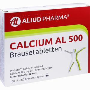 Abbildung von Calcium Al 500 Brausetabletten 100 Stück