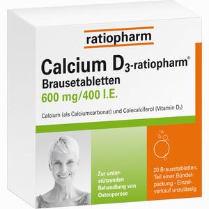 Abbildung von Calcium D3- Ratiopharm Brausetabletten  100 Stück