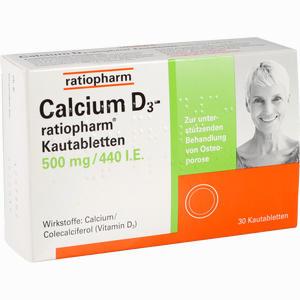 Abbildung von Calcium D3- Ratiopharm Kautabletten  30 Stück