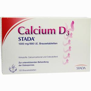 Abbildung von Calcium D3 Stada 1000mg/880 I.e. Brausetabletten  120 Stück