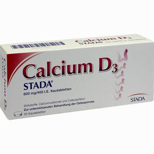 Abbildung von Calcium D3 Stada Kautabletten 50 Stück