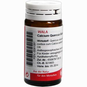Abbildung von Calcium Quercus Globuli Velati  20 g