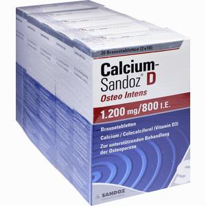 Abbildung von Calcium- Sandoz D Osteo Intens 1200mg/800 I.e. Bta Brausetabletten 100 Stück