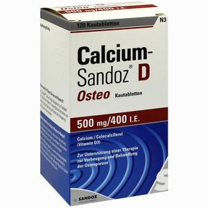 Abbildung von Calcium- Sandoz D Osteo Kautabletten  120 Stück