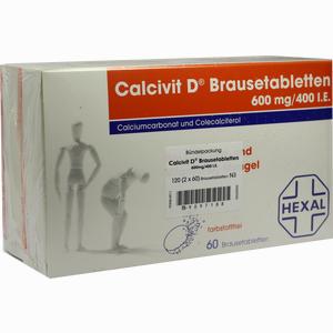 Abbildung von Calcivit D Brausetabletten  120 Stück