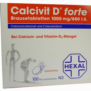 Abbildung von Calcivit D Forte Brausetabletten 100 Stück