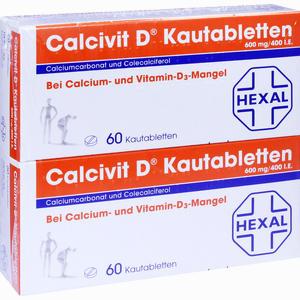 Abbildung von Calcivit D Kautabletten  120 Stück