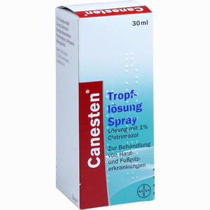 Abbildung von Canesten Tropflösung Spray 30 ml