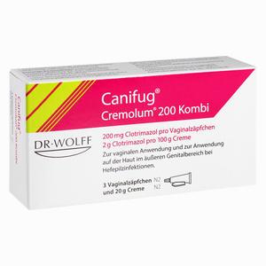 Abbildung von Canifug Cremolum 200 3+20 G Kombipackung 1 Packung