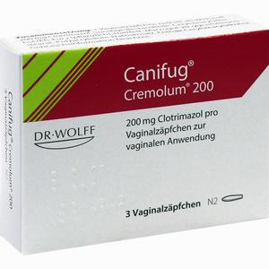 Abbildung von Canifug Cremolum 200 Vaginalzäpfchen 3 Stück