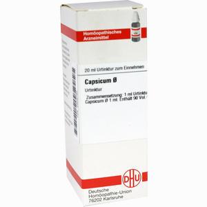 Abbildung von Capsicum Urtinktur D 1 Dilution 20 ml