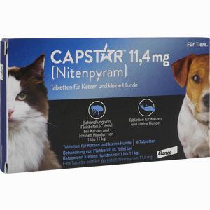 Abbildung von Capstar 11.4mg für Katzen und Kleine Hunde Tabletten 6 Stück
