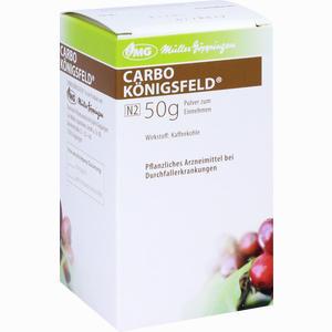 Abbildung von Carbo Königsfeld Pulver  50 g