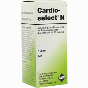 Abbildung von Cardioselect N Mischung Zum Einnehmen Tropfen 100 ml