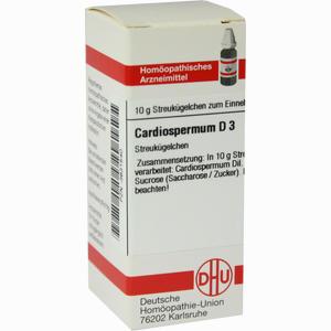 Abbildung von Cardiospermum D3 Globuli 10 g