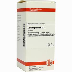 Abbildung von Cardiospermum D3 Tabletten 200 Stück