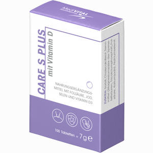 Abbildung von Care S Plus mit Vitamin D Tabletten 100 Stück