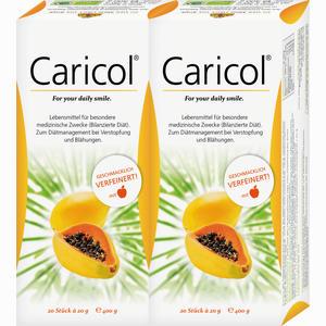 Abbildung von Caricol Doppelpackung Beutel 40 x 21 ml