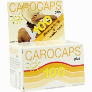 Abbildung von Carocaps 100 Plus Kapseln 30 Stück