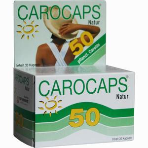 Abbildung von Carocaps 50 Natur 30 Stück