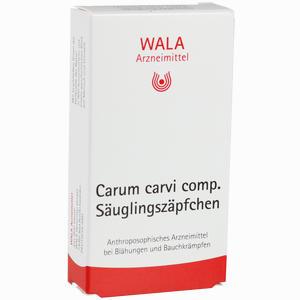 Abbildung von Carum Carvi Comp. Säuglingszäpfchen  10 x 1 g