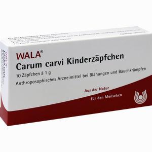 Abbildung von Carum Carvi Kinderzäpfchen  10 x 1 g