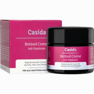 Abbildung von Casida Retinol Creme + Hyaluron  50 ml