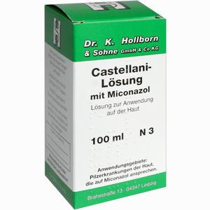 Abbildung von Castellani- Lösung mit Miconazol  100 ml