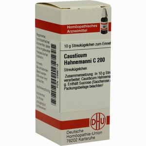 Abbildung von Causticum Hahnemanni C200 Globuli  10 g