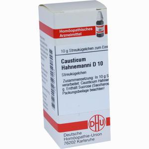 Abbildung von Causticum Hahnemanni D10 Globuli 10 g