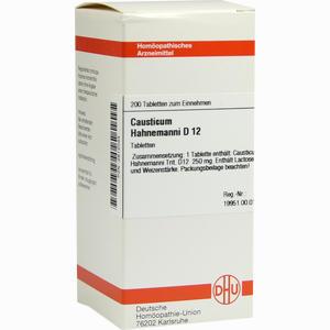 Abbildung von Causticum Hahnemanni D12 Tabletten  200 Stück
