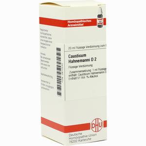 Abbildung von Causticum Hahnemanni D2 Dilution 20 ml