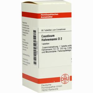 Abbildung von Causticum Hahnemanni D2 Tabletten 80 Stück