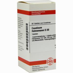 Abbildung von Causticum Hahnemanni D30 Tabletten 80 Stück