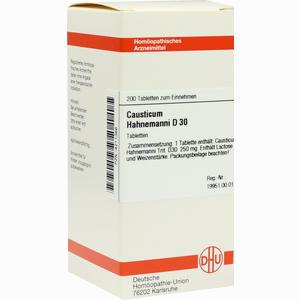 Abbildung von Causticum Hahnemanni D30 Tabletten  200 Stück