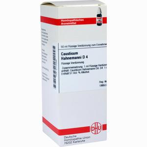 Abbildung von Causticum Hahnemanni D4 Dilution 50 ml