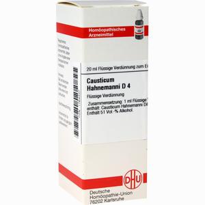 Abbildung von Causticum Hahnemanni D4 Dilution Dhu-arzneimittel 20 ml