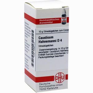 Abbildung von Causticum Hahnemanni D4 Globuli 10 g