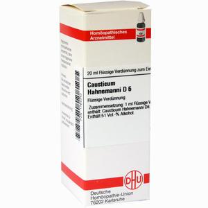 Abbildung von Causticum Hahnemanni D6 Dilution 20 ml