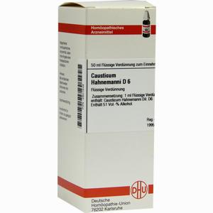 Abbildung von Causticum Hahnemanni D6 Dilution 50 ml