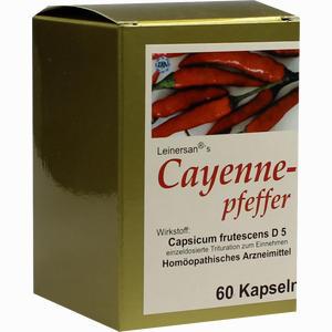 Abbildung von Cayennepfeffer Kapseln 60 Stück